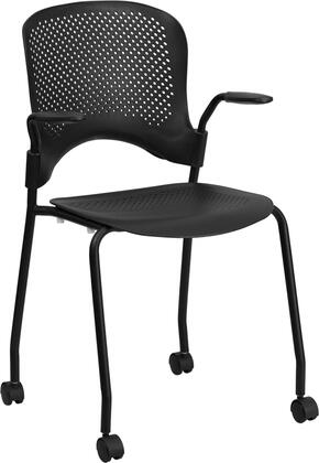 "Flash Furniture RUT2082KBKCASGG 22.5"" Contemporary Office Chair"