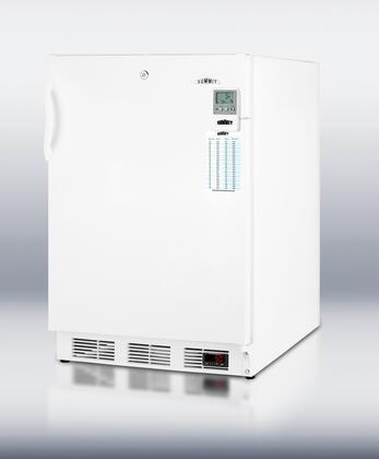 Summit SCFF55LMEDDTADA MEDDTADA Series  Freezer with 5 cu. ft. Capacity in White
