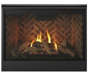 """Majestic DBDV42Ix 48"""" Meridian Series Fireplace with 42"""" Viewing Area, 35000 BTU and Intellifire Plus IPI Ignition System"""