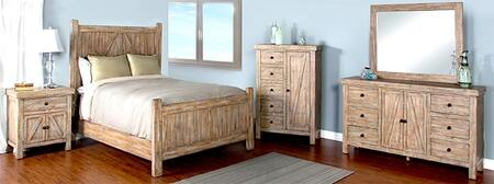 Sunny Designs 2307WKBDMNC Durango King Bedroom Sets