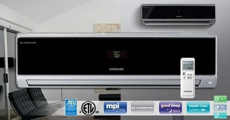 Samsung AQV24VBEX Mini-Split Air Conditioner Air Conditioner Cooling Area,