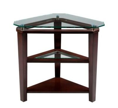 Broyhill 3431007 Ellerbe Series Modren Triangle End Table