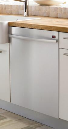 "Asko D5624XLCS 24"" Built-In Semi-Integrated Dishwasher with"