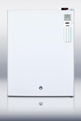 """Summit FF28LWHVAC 19"""" Compact Refrigerator with 0.8 cu.ft. Capacity in White"""