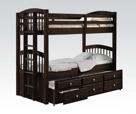 Acme Furniture 40000 Micah Series  Twin Size Bunk Bed