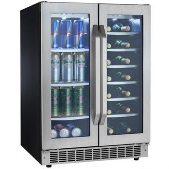 Danby DBC7070BLSST  Silhouette Select Series Built-In Compact Beverage Center |Appliances Connection