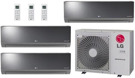 LG 704157 Triple-Zone Mini Split Air Conditioners