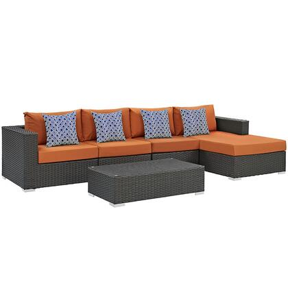 Modway EEI2382CHCTUSSET Contemporary Patio Sets