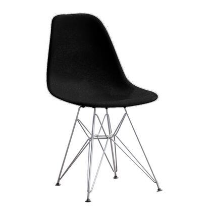 Fine Mod Imports FMI2011X Wire Leg Dining Chair,