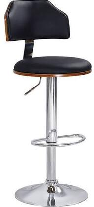 Acme Furniture 96531 Ansel Series Bycast Leather Upholstered Bar Stool