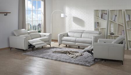 J and M Furniture Lorenzo Lorenzo Sofa Set with Chair