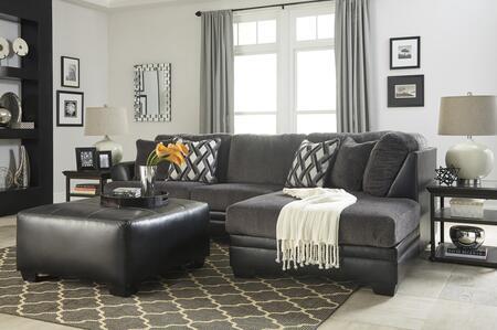 Milo Italia MI4590RSSOBLAC Efrain Living Room Sets