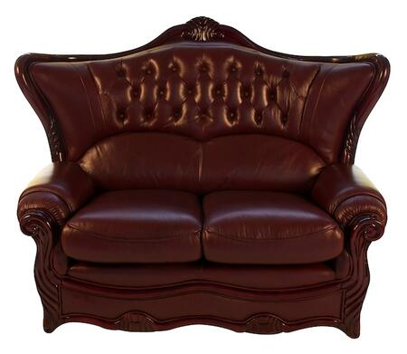 J. Horn 988L Traditional Style Loveseat