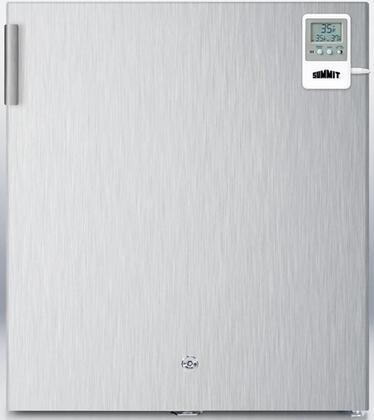 Summit FFAR22LWCSSMED Med Series All Refrigerator with 1.6 cu. ft. Capacity in Stainless Steel