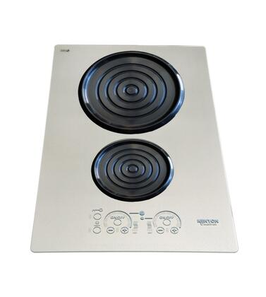 "Kenyon B80205 24"" Silken Series 2 Element Yes Cooktop, in Platinum"