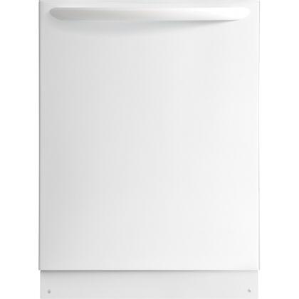 """Frigidaire Gallery FGID2474Q 24"""" Fully Integrated Built-In Dishwasher with 7 Wash Cycles, Stainless Steel Tub, Adjustable Upper Rack, and Energy Star Rating"""