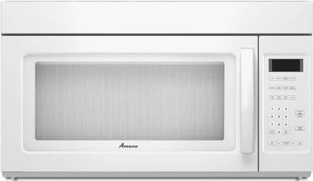 Amana AMV2175CW 1.7 cu. ft. Capacity Over the Range Microwave Oven
