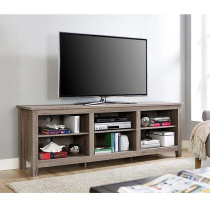 Walker Edison W70CSP 70 Essentials TV Stand