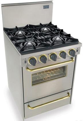 "FiveStar TPN4807BSW 24"" Gas Freestanding |Appliances Connection"