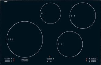 Miele KM5753  Yes Cooktop, in Black
