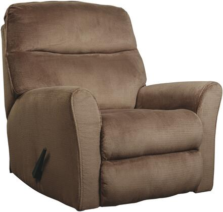 Signature Design by Ashley 6730325 Cossette Series Contemporary Fabric Metal Frame Rocking Recliners