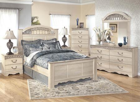 Milo Italia BR284QPBDMN Conner Queen Bedroom Sets