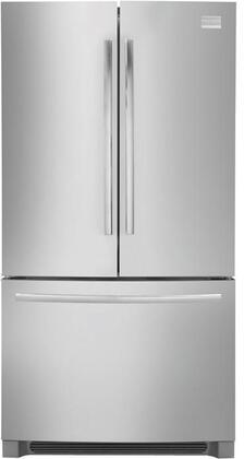 Frigidaire FPHG2399MF Professional Series Counter Depth Bottom Freezer Refrigerator with 22.6 cu. ft. Total Capacity 6.9 cu. ft. Freezer Capacity 4 Glass Shelves   Appliances Connection