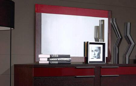 VIG Furniture VGWCRIMINIM Modrest Rimini Series Rectangular Landscape Dresser Mirror
