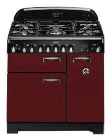 AGA ALEG44EBRK Legacy Series Electric Freestanding Range with Smoothtop Cooktop, 2.2 cu. ft. Primary Oven Capacity, Storage in Brick