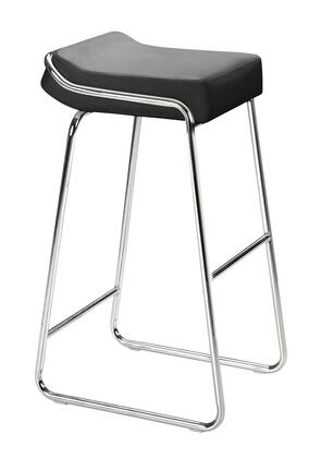 Zuo 30004 Wedge Collection Modern Bar stool in