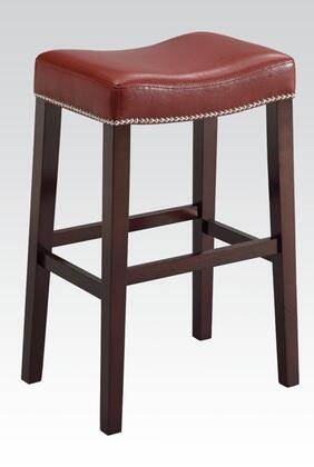 Acme Furniture 96295 Lewis Series Bycast Leather Upholstered Bar Stool