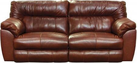 Catnapper 64341128319308319 Milan Series  Leather Sofa