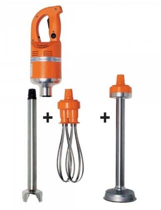 Dynamic MF001X Master Combi 2 MFAP2000 Detachable (Mixer Tool + Whisk + Ricer) With 9500 RPM, 460 Watts, Variable Speed, Titanium Plated Cutter Blade, Safety Switch, Continuous Run Switch, in Orange