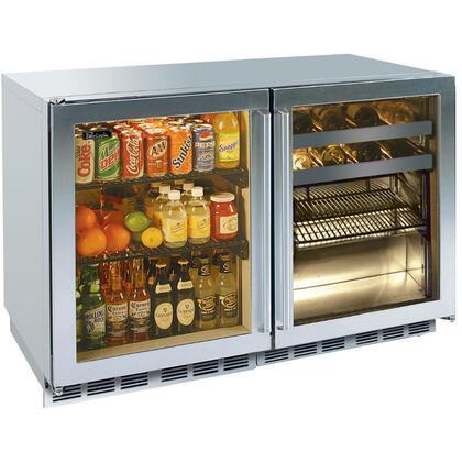 Perlick HP48RRS4L4RDNU Signature Series Counter Depth All Refrigerator with 12.3 cu. ft. Capacity