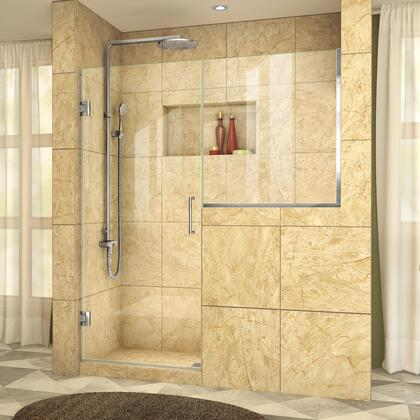 UnidoorPlus Shower Door 39 30D 30BP 01