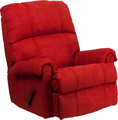 Flash Furniture WM8700216GG WM-8700 Series Contemporary Microfiber Wood Frame Rocking Recliners