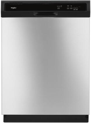 """Whirlpool WDF330PAHx 24"""" Built-In Dishwasher with 3 Wash Cycles, Energy Star, Star K Certified, Heated Dry, 4 Hour Delay, 55 dBA Noise Level and Control Lock, in"""