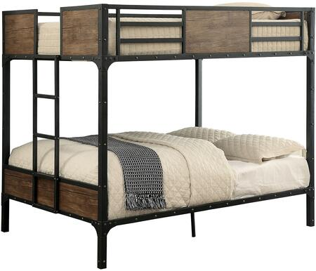 Furniture of America CMBK029FF Clapton Series  Full Size Bed