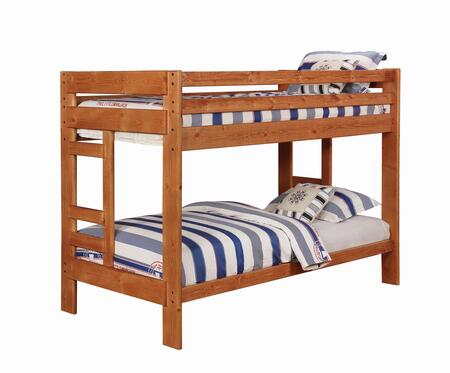Coaster Wrangle Hill Twin Size Bed 460243 Amber Wash