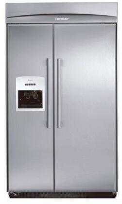 Thermador KBUDT4255E Built In Side by Side Refrigerator