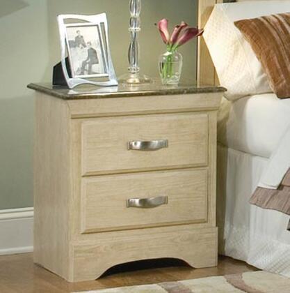 Standard Furniture 56107 Coronado Series Rectangular Wood Night Stand