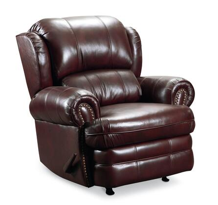 Lane Furniture 5421186598730 Hancock Series Traditional Leather Metal Frame Rocking Recliners