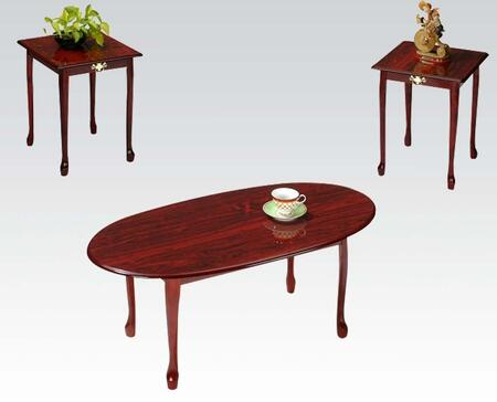 Acme Furniture 02075CH  Living Room Table Set