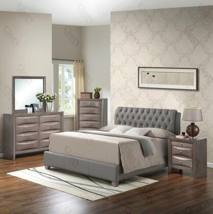 Glory Furniture G1505CQBUPDMN G1505 Queen Bedroom Sets