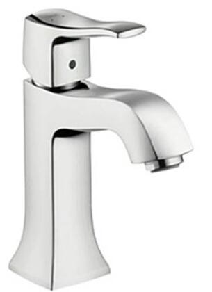 Hansgrohe 31075 Metris C Single-Hole Faucet with Boltic Handle Lock: