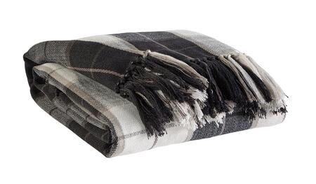 Signature Design by Ashley Raylan  A100011XT Decorative Throw with Fringes, 100% Polyester and Machine Washable