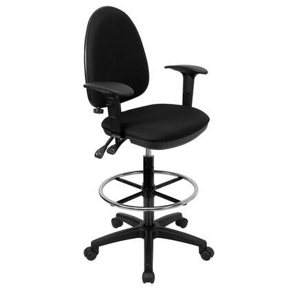"Flash Furniture WLA654MGBKADGG 22"" Contemporary Office Chair"