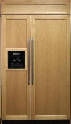 Dacor IF42DBOL Built In Side by Side Refrigerator