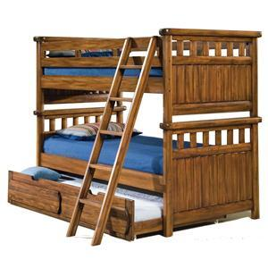 American Woodcrafters 740033BNK  Twin Size Bunk Bed