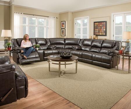 Simmons Upholstery 50451BR65630716BINGOBROWN Bingo Living Ro